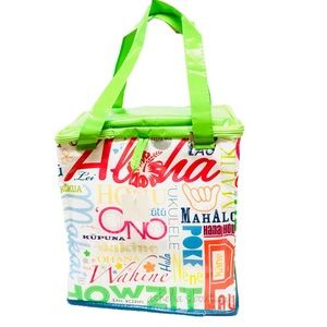 Handbags - New~ Hawaii Aloha Insulated Reusable Tote Bag